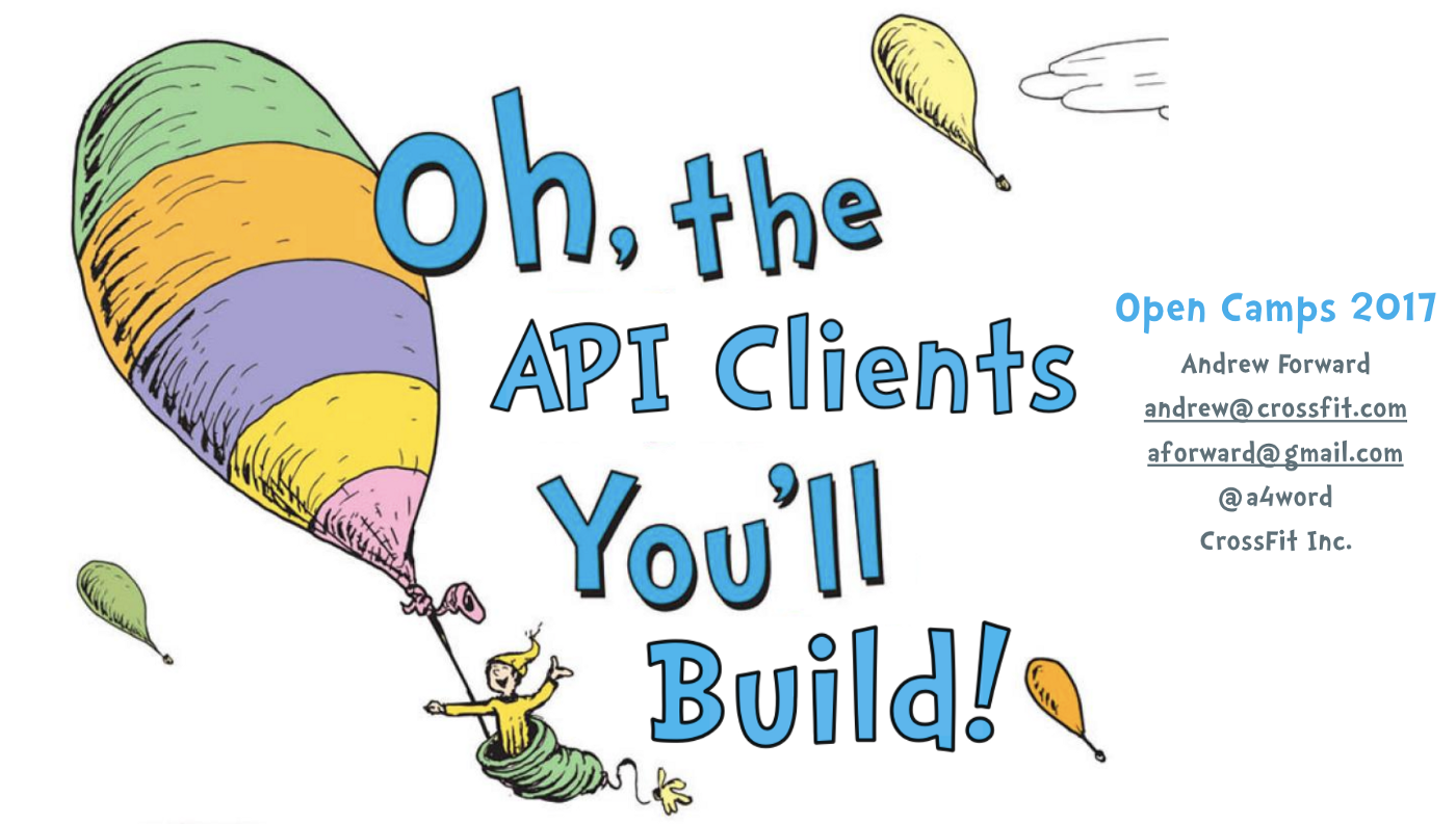 Oh, the API Clients You'll Build (in Elixir)
